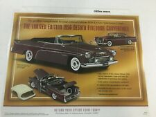 DANBURY MINT L/E 1956 DESOTO FIREDOME CONVERTIBLE *SALES FLYER ONLY *