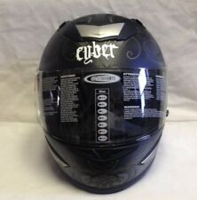 Medusa Matte Cyber X-Small Full Faced Helmet With Clear Face Shield 640500 CO