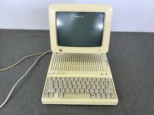 Vintage 1980's Apple IIc A2S4000 Computer, Monitor, Stand and Power Supply WORKS