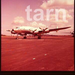 60 x 60 glass slide  aeroplane aircraft plane US air force c1950s r31