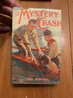 1932 The Mystery Crash Van Powell Series 1 First Edition W/ Dust Jacket