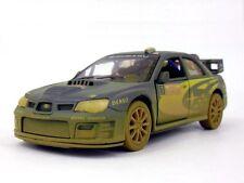 Muddy 2007 Subaru Impreza WRC Diecast 1:36 model Rallye Monte Carlo Rally New