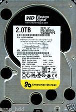 WESTERN DIGITAL SATA 2TB WD2002FYPS-01U1B0 DCM: FBRCHV2AAB