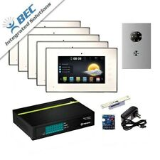 5 Monitor Home Security Apartment Entry Monitoring Ip Video Intercom Kit System