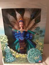 The Peacock Barbie  from the Birds of Beauty Collection  Mattel 1998 NRFB
