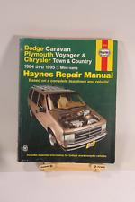 DODGE CHRYSLER Caravan Voyager Town & Country 1984-1995 Service Repair Manual .