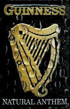 Guinness Harp Irish Draught Beer Drink Pub Bar Inn Medium 3D Metal Embossed Sign