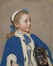 Porträt von Maria Frederike van Reede Athlone Jean-Etienne Liotard Kunst A3 179
