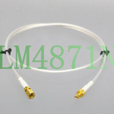 SMC M/F RG316 2' Low Noise RF Extension cable for Sensor Transducer Oscilloscope