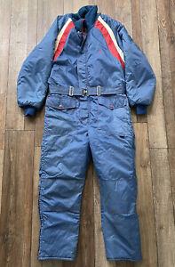 Vintage Polaris snowmobile suit size medium adult