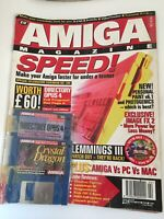 CU Amiga Magazine February 1995 With Cover Disks Sealed And Attached