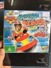 Fireman Sam - Ocean Rescue ex-rental region 4 DVD (kids series)