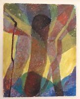 Mid Century Artist Robert Hooton original Signed