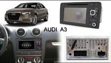 AUTORADIO 2 DIN Android 6 per Audi A3 2003-2013 wifi, 3g, touchscren, BT