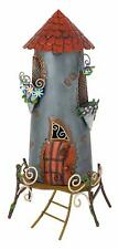 Fairy Tower House Fairy Kingdom Fountasia Metal Garden Ornament Decoration Gift