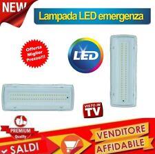 LAMPADA DI EMERGENZA SMD PLAFONIERA INCASSO 50 LED 4W 406Lm 650