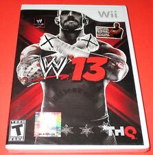 WWE '13 Nintendo Wii *Factory Sealed! *Free Shipping!