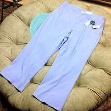 NEW Dressbarn Pants 18W Womens Tummy Control Lavender Purple Trouser Leg