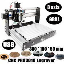 Mini Laser Diy 3 Axis Router 3018 Wood Pcb Engraver Print Machine Grbl 12w