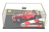 Ferrari F399 Michael Schumacher Formel1 Tabak Werbung Showcase Vitrine 1:43