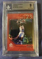 Michael Jordan 1997 1998 Sp Authentic Profiles P1 BGS 9 Mint. REF Look, POP 18.
