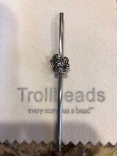 Trollbeads Sterling Silver Bead Charm Monkey Bunny Rare