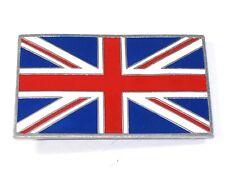 UNION JACK Jac Belt Buckle British flag motorcycle badge Nice Quality USA Made
