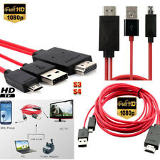 Micro USB to HDMI TV AV Cable Adapter HDTV For Samsung Galaxy S3/S4/Note2/3