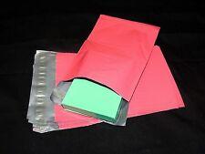 50 Pink 6x9 Flat Poly Mailer Envelopes, 6x9 Self Sealing Shipping Bag Mailing