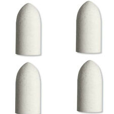 Dremel 422 4 x 10mm Felt Cloth Polishing Buffing Point Tip for High Speed Tools