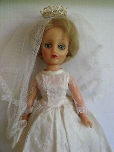 "VINTAGE  FAERIE GLEN 15"" TEENAGE DOLL, GIGI IN ORIGINAL BRIDAL OUTFIT (as boxed)"