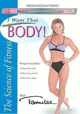 The Science of Fitness with Tamilee I Want That Body! DVD Case Free Shipping