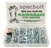 120pc Bolt Kit KXF 250 450 Kawasaki KXF250 KXF450 Body Plastics Engine Seat
