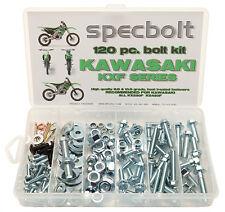 120pc Bolt Kit KXF Kawasaki KXF250 KXF450 KX250F KX450F Body Plastics Frame seat