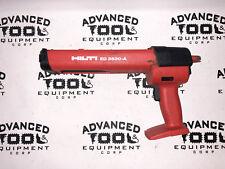 Hilti Ed-3500-A Cordless Dispenser Epoxy Glue Paste Adhesive Gun