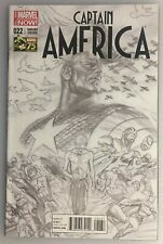 CAPTAIN AMERICA #22 SKETCH 1:300 BY ALEX ROSS MARVEL VARIANT EDITION 75 YEARS