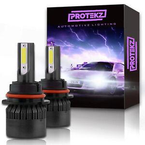 LED Headlight Kit Protekz High 9005 6000K 1200W for 1996-2004 Oldsmobile BRAVADA