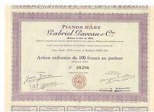 Pianos D'Art  Gabriel Gaveau & Cie  1925  Paris