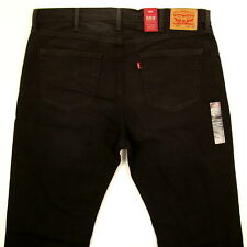 Levis 559 Jeans Mens New RELAXED FIT SIZE 42 x 34 BLACK WITH FADE Levi's NWT
