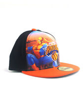 New Era NBA New York Knicks 59fifty Fitted Hat Size 7 3/8 Spider-Man Marvel NWT