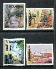 Bermuda 613-16 MNH Paintings 1991 by Prosper Senat Frank Alison Jack Bush x18445