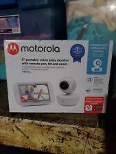 New listing Motorola Mbp36Xl Portable Video Baby Monitor - White