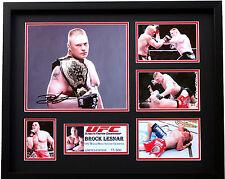 New Brock Lesnar Signed Limited Edition Memorabilia
