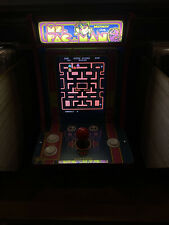 New ListingArcade1up Countercade Ms. Pac-man *Pink Trim* With Lighted Marquee Pacman Qvc