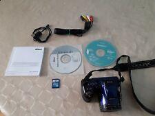 NIKON  COOLPLIX L810 16.1mp digital camera with all cables,CDs,Manual,SD