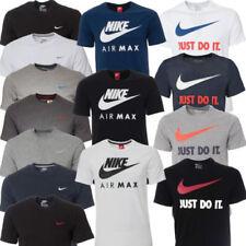 Camisetas de hombre de manga corta Nike color principal negro