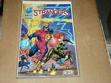 Ultraverse The Strangers #4 + #10 + #21 + 22     Malibu Comics -NICE LAST ONE