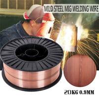 "44 lb Roll ER70S-6 .04"" Mild Steel Mig Welding Wire .04 Gold USA Ship"
