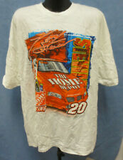 TONY STEWART XL SHIRT 4 SIDED PRINTED NASCAR MENS VINTAGE RETRO VTG WINSTON CUP