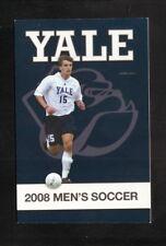 Yale Bulldogs--2008 Soccer Pocket Schedule--New Haven Register